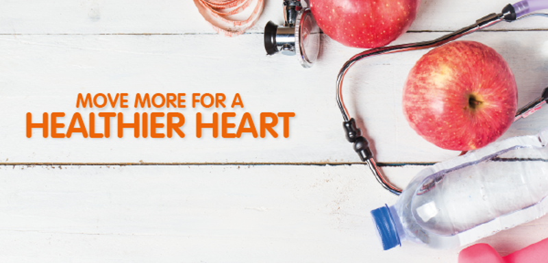 Move More for a Healthier Heart