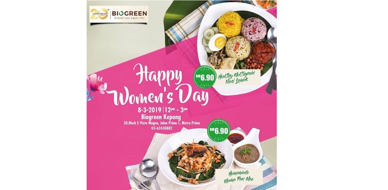 Biogreen @ Kepong - International Women's Day