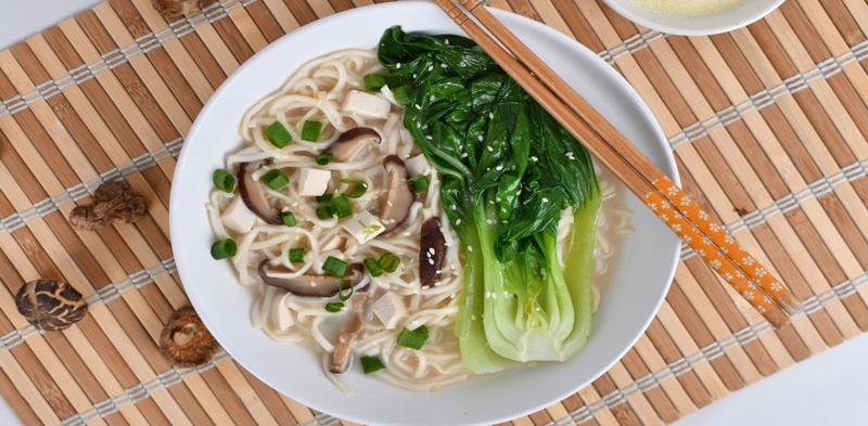 Soy Miso Noodle Soup