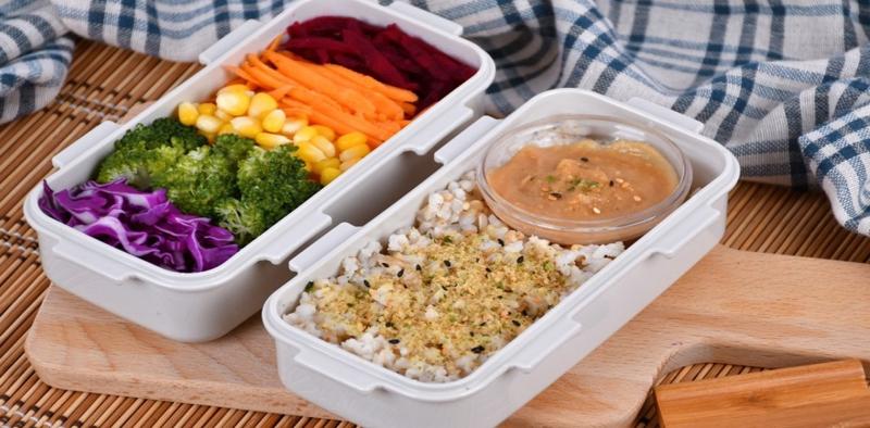Rainbow Veggie Bento Box