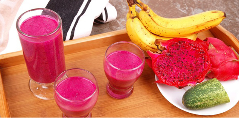 Healthy Red Dragon Smoothie