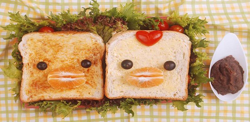 Happy Bread Bento