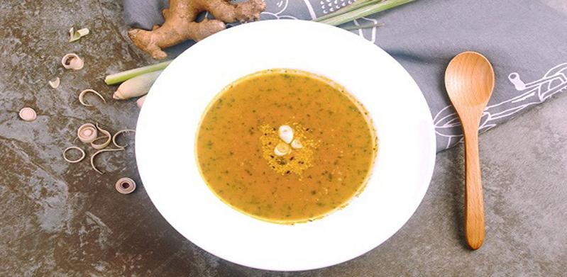 Ginger & Lemongrass Soup