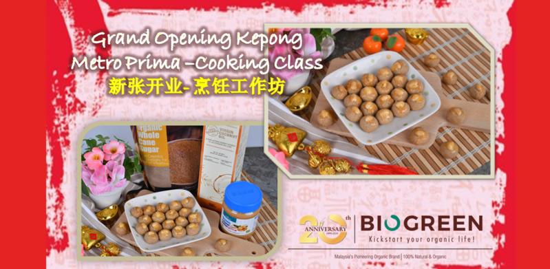Biogreen Kepong Grand Opening - Cooking Class