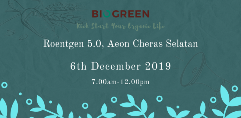 Biogreen - Roentgen 5.0 Aeon Cheras Selatan