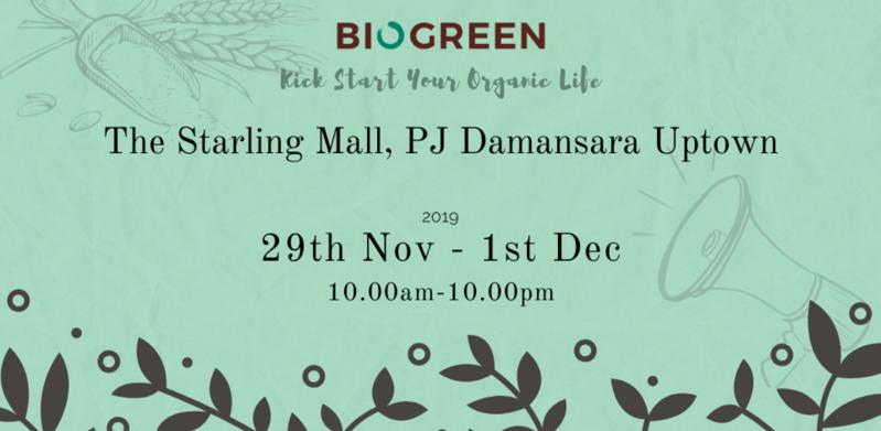 Biogreen - Health & Wellness Fair, The Starling