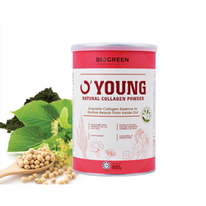 Picture of Biogreen O'Young Natural Collagen 400g (HALAL)