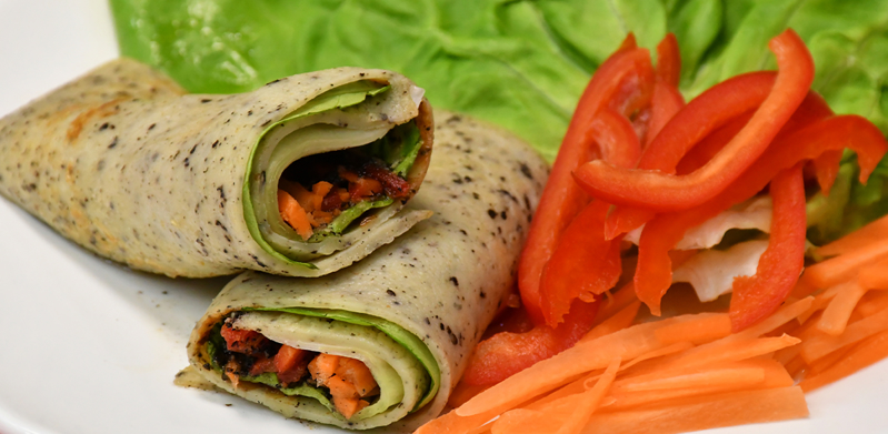 Veggie Black Sesame Soya Roll