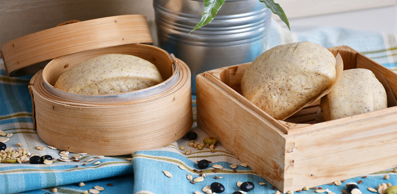Multigrain Steamed Buns (Mantou)