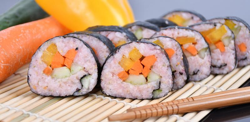 Beetroot Sushi
