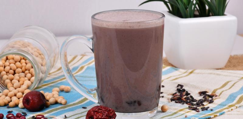 Red Bean Black Rice Organic Soya Milk