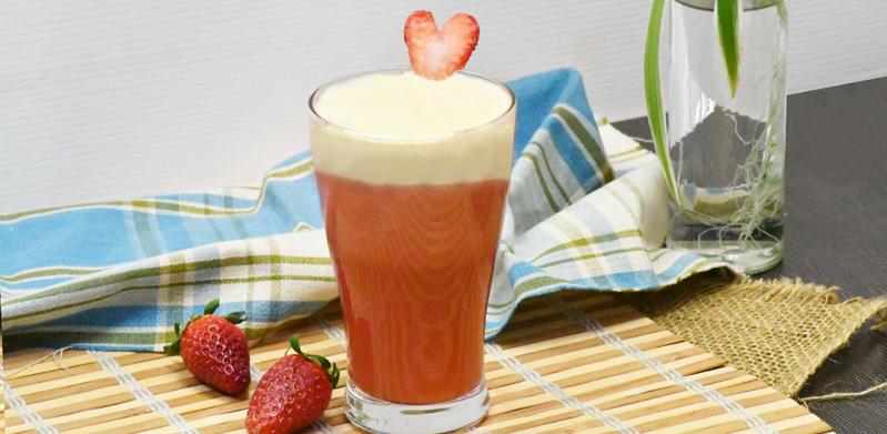 Strawberry Milk Cap Hibiscus Tea