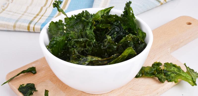 Sea Salt & Garlic Kale Chips