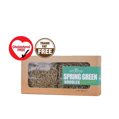 Picture of etblisse Spring Green Noodles (HALAL) 4 pieces x 62.5g)