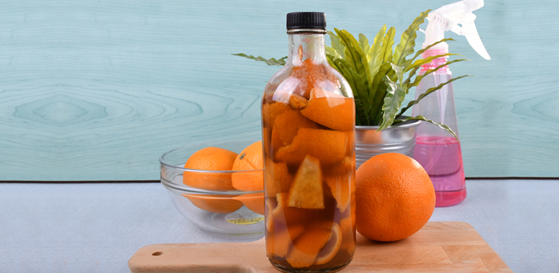 Homemade Citrus Enzymes Cleaner
