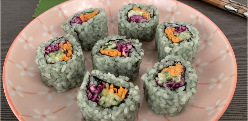 SuperTrio California Roll