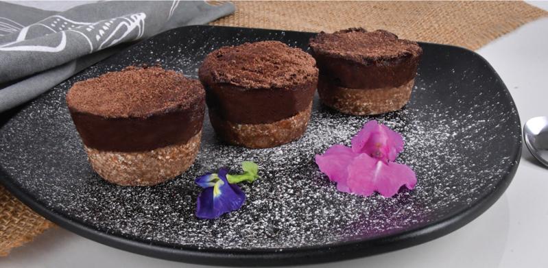 No-bake Vegan Chocolate Cheesecake