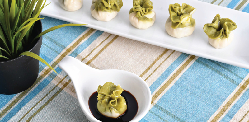 Jadeite Cabbage Treasure Dumplings