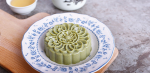 Supergreen Agar-Agar Jelly Mooncake