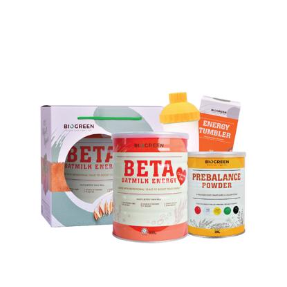 Picture of Easy-Peasy Breastfeeding Package (Beta Oatmilk + Prebalance Powder)