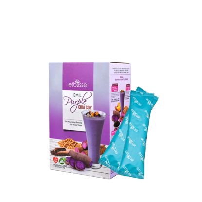 Picture of Etblisse Purple Chia Soy Sachets Box (HALAL) 8's x 30g