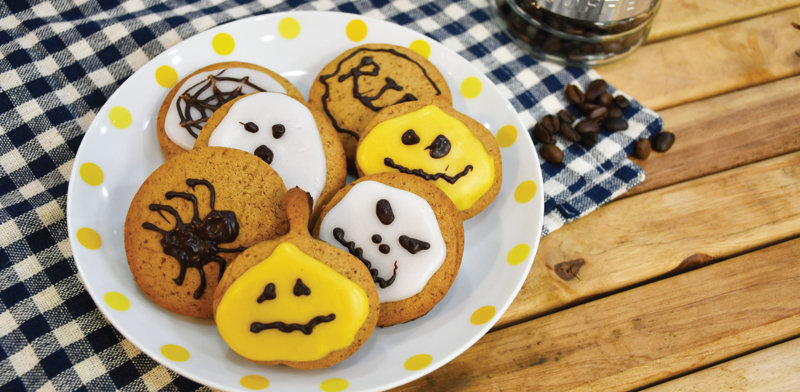Halloween Latte Cookies