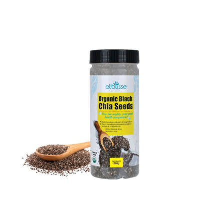 Picture of Etblisse Organic Black Chia Seed (HALAL) 220g