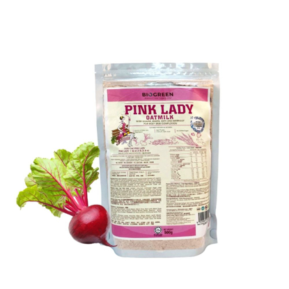 Picture of Biogreen Pink Lady Oatmilk (HALAL) Refill Pack 500g [Best Before July 2021]