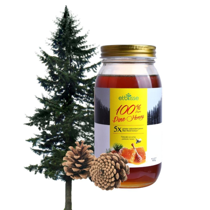Picture of Etblisse 100% Pure Pine Honey (HALAL) 900g