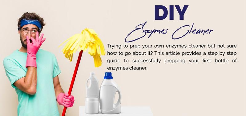 DIY Enzymes Cleaner