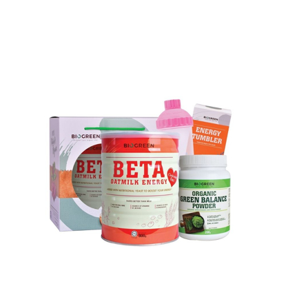 Picture of Cho'less Health Bundle (Beta Oatmilk + Green Balance)