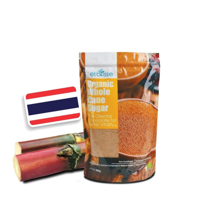 Picture of Etblisse Organic Whole Cane Sugar (HALAL) 800g