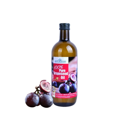 Picture of Etblisse 100% Pure Grapeseed Oil 1000ml