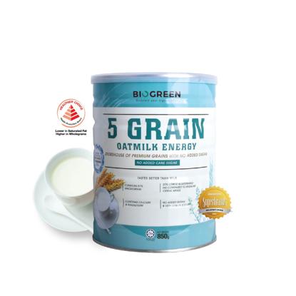 Picture of Biogreen 5 Grain Oatmilk Energy (HALAL) 850g