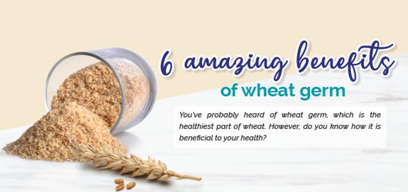 6 amazing benefits of wheat germ