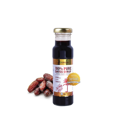 Picture of Biogreen 100% Pure Dates Syrup (HALAL) 230g