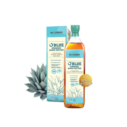 Picture of Biogreen O'Blue Organic Agave Nectar (NASAA-Certified) (HALAL) 1kg