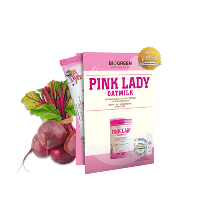 Picture of Biogreen Pink Lady Oatmilk (HALAL) Trial Sachet 1's x 30g