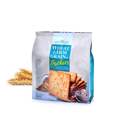 Picture of etblisse Wheat Germ Grain + Crackers 16's x 26g