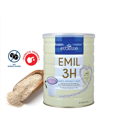 Picture of etblisse Emil 3H Purple Oat Bran Milk (HALAL) 600g