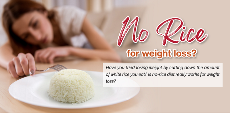 No-rice for weight loss ?