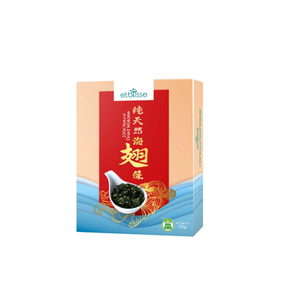 Picture of etblisse 100% Natural Dried Wakame Seaweed (HALAL) 50g