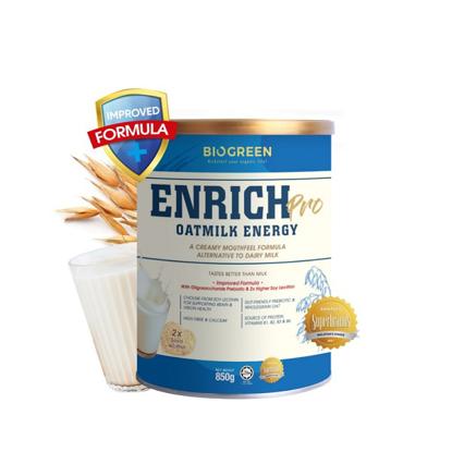 Picture of [20% Off] Biogreen Enrich Pro Oatmilk Energy (HALAL) 850g